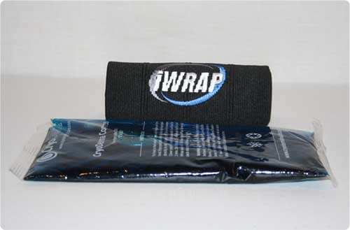 iWrap ice pack and gel ice pack